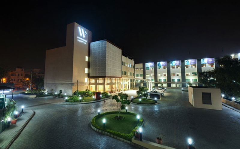 Outside View of W Pratiksha Hospital