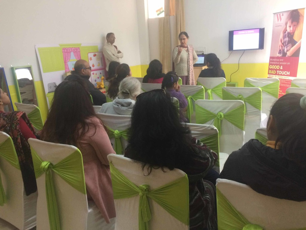 Interactive session on Good Touch Bad Touch | W Pratiksha